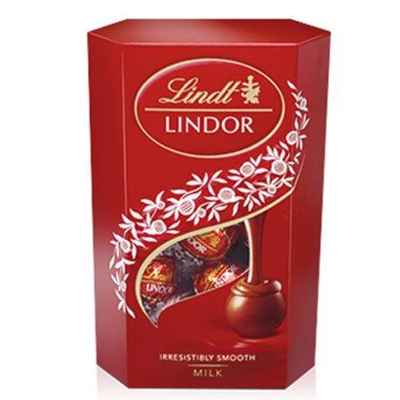 Конфеты шоколадные Линдор Lindt Молочный 200г