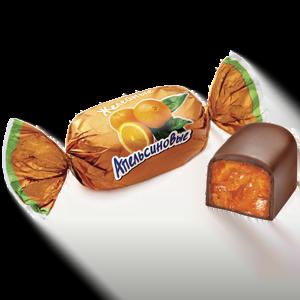 Конфеты весовые «Апельсиновые», желейные