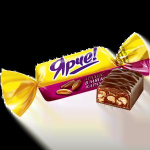 Конфеты весовые «Ярче!» с арахисом