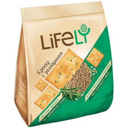 Крекер LifeLY с розмарином, 180 гр.