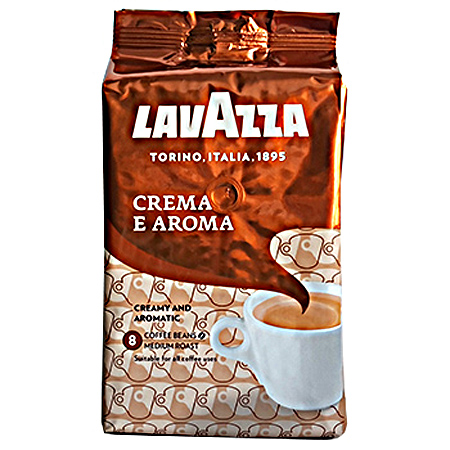 Кофе Лаваца (Lavazza) Crema e Aroma (AUS), 1 кг. зерно