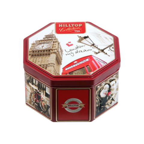 Чай Хилтоп Прогулки по Лондону 8 г/б +Чай Черный лист