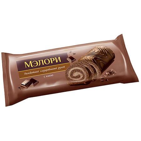 Рулет Мэлори бисквитный с какао, 200 г