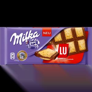 Шоколад Милка Сэндвич с печеньем LU