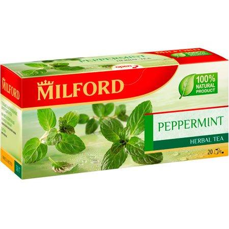Чайный напиток Милфорд (Milford) Мята перечная 1,5г х 20пак