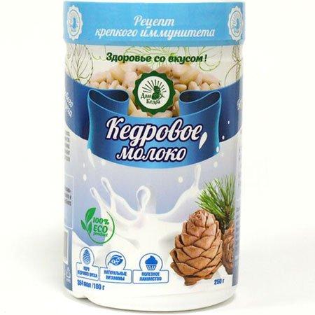 Напиток растворимый Кедровое молоко, 250гр