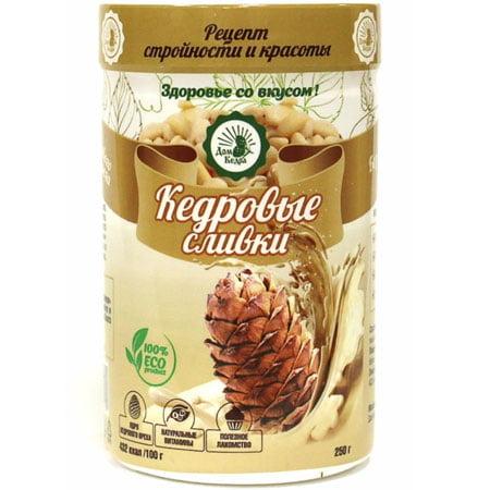 Напиток растворимый Кедровые сливки, 250гр