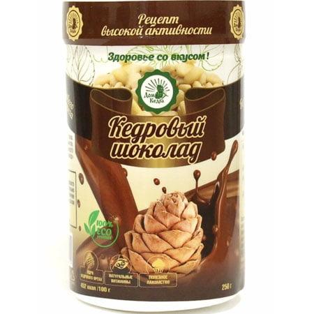 Напиток растворимый Кедровый шоколад, 250гр