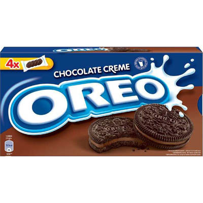 Печенье Орео Какао с Шоколадной начинкой 228 гр