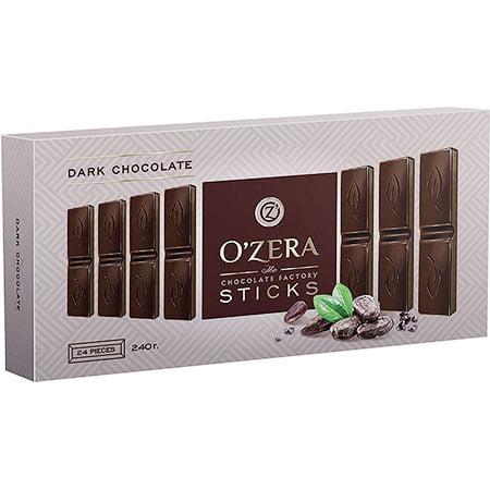 Шоколад O`Zera горький «Dark» в форме стиков, 240 г