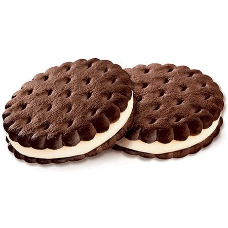 Печенье весовое сэндвич с шоколадно-сливочным вкусом 3,4 кг.