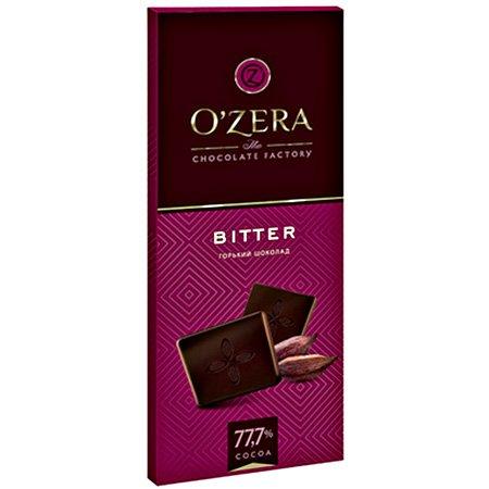 Шоколад O`Zera горький Bitter 77,7 % 90 гр.