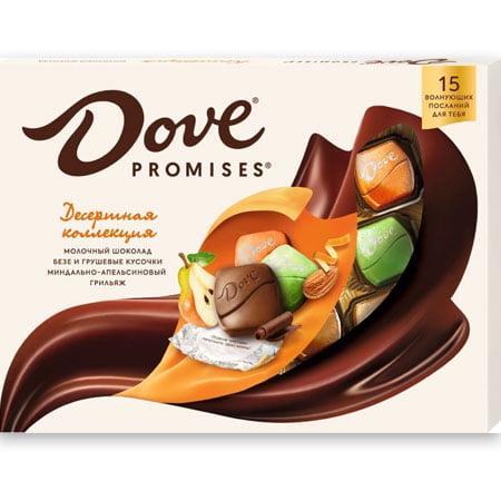 Шоколадные конфеты Dove Promises десертное ассорти 118гр