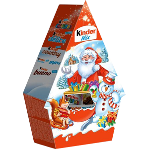 Шоколад Киндер Мини Микс - Домик, 106гр.