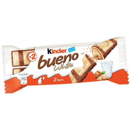 Шоколадный батончик Киндер Буэно в белом шоколаде Т-2, 39г