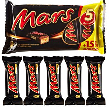 Шоколадный батончик Марс Мульти Пак