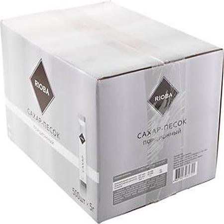 Сахар Риоба порционный белый (стики) 5гр.*500шт.