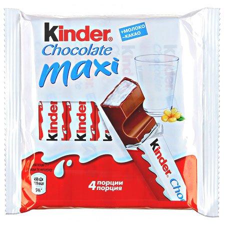 Шоколад Киндер Макси 84гр. Т-4