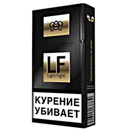 Сигареты с фильтром LF (Light Figh)BLACK QS