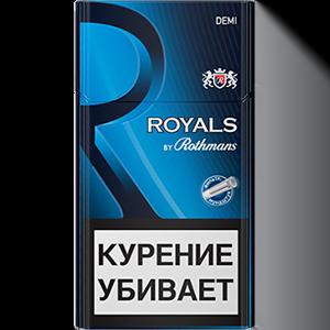 Сигареты Роялс Деми Блю / Ротманс
