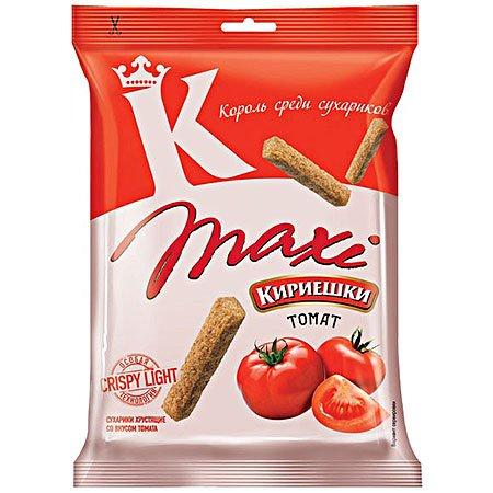 Сухарики «Кириешки Maxi» Томат 60г