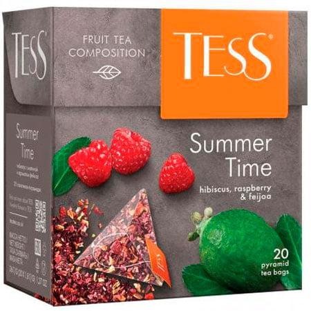 Чай Тесс (Tess) Самма Тайм травяной 20 пирамидок