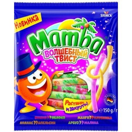 Жевательная конфета Мамба Волшебный твист 150г