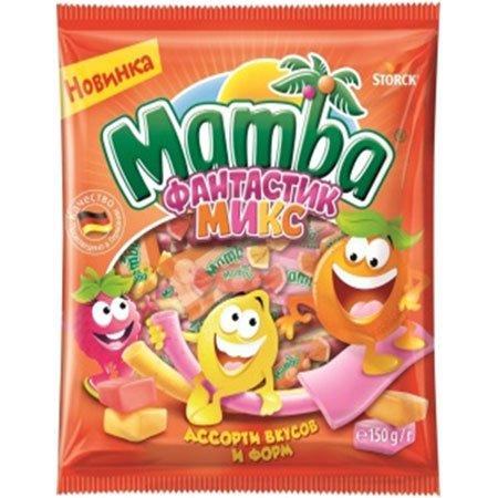 Жевательная конфета Мамба Фантастик Микс 150г