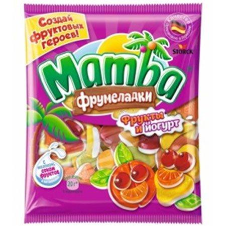 Жевательная конфета Мамба Фрукты и Йогурты 140г