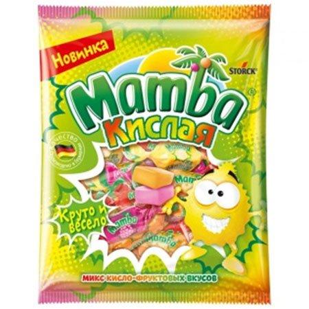 Жевательная конфета Мамба Кислая 70г