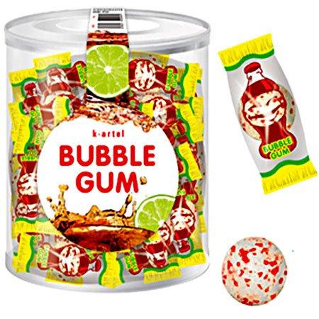 Жевательная резинка Bubble Gum Кола 50шт/банка