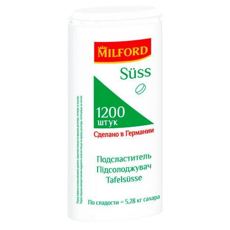 Заменитель сахара MILFORD SUSS 650 таблеток