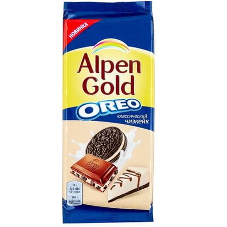 Шоколад Альпен Голд с Оreo Классический чизкейк