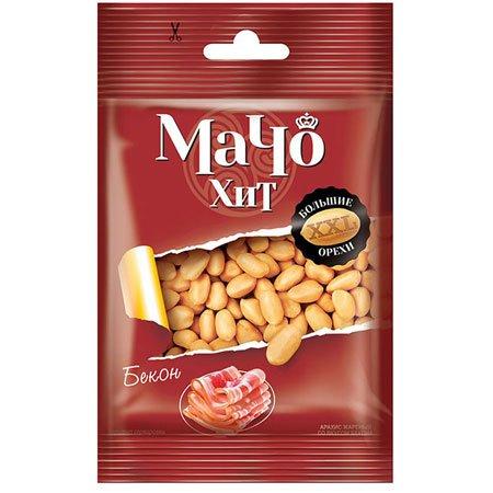 Арахис Мачо Хит со вкусом бекона 30 гр.