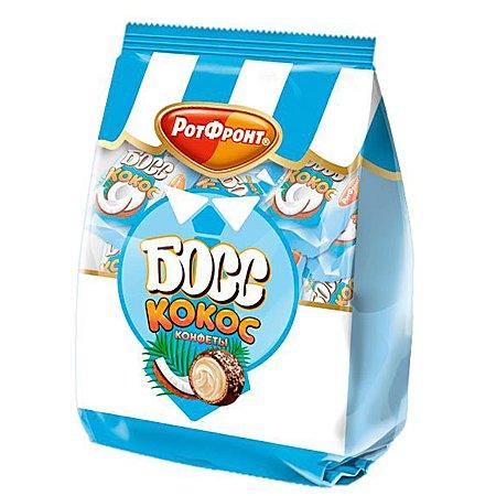 Конфеты Босс Кокос со вкусом кокоса 200гр