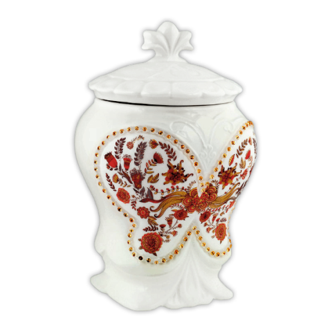 Чай Хилтоп Керамическая чайница +Чай с чабрецом