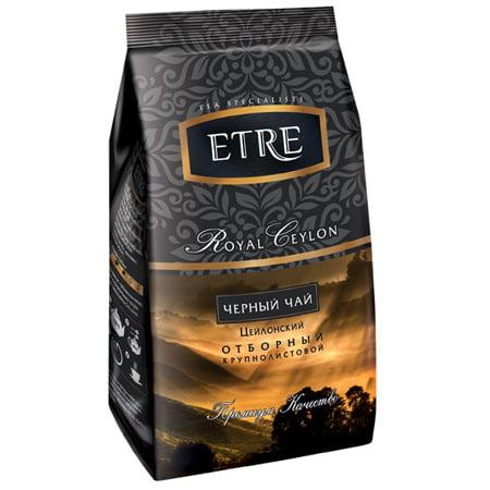 Чай Этре (Etre) «Royal Ceylon» черный цейлонский крупнолистовой, 200гр.