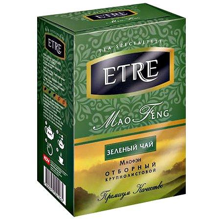 Чай Этре (Etre) «Mao Feng» зелёный крупнолистовой, 100 гр.