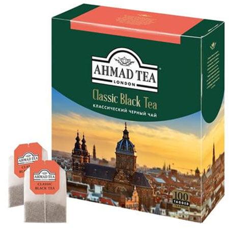 Чай Ахмад Классический черный 100п.