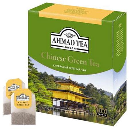 Чай Ахмад Зеленый китайский 100п.