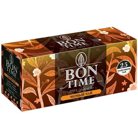 Чай Бонтайм (Bontime) черный индийский 25 пак с/я