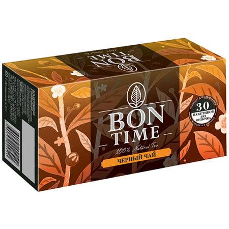 Чай Бонтайм (Bontime) черный индийский 30 пак б/я
