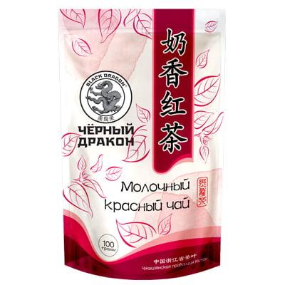 Чай Черный дракон Молочный красный, м/у