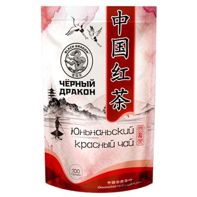 Чай Черный дракон Юньнаньский красный, м/у