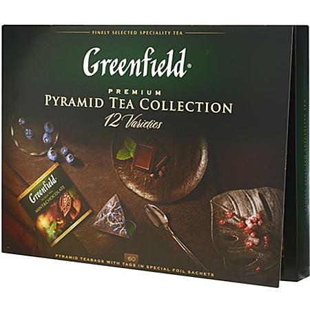Чай Гринфилд Набор ассорти 12 видов по 5 пак.