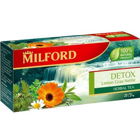 Чайный напиток Милфорд (Milford) Detox, 2г х 20пак