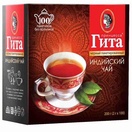 Чай Принцесса Гита Индийский 100 пак б/я