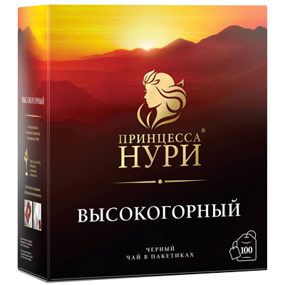 Чай Принцесса Нури Высокогорный 100 пак с/я