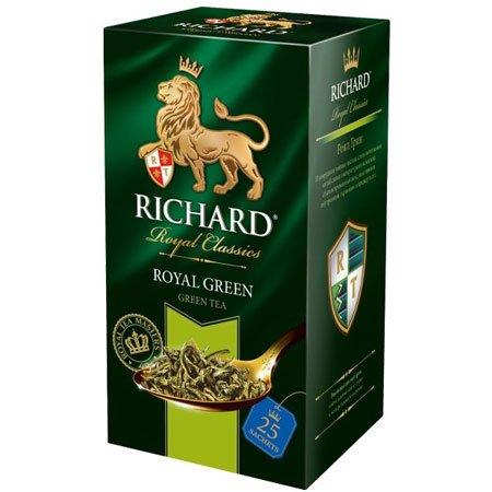 Чай Ричард зелёный Роял Грин, 25 пакетиков