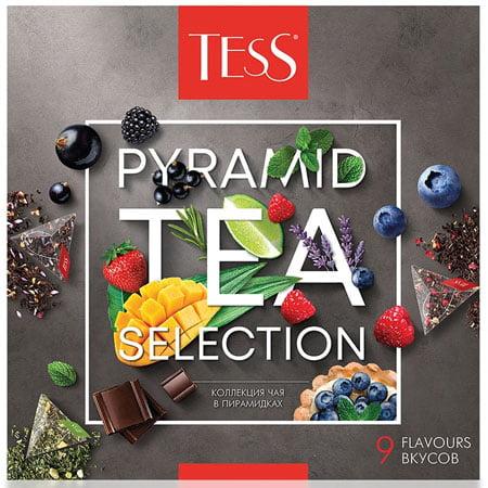 Чай Тесс (Tess) Ассорти 9 вкусов 45 пир.х11 шт.